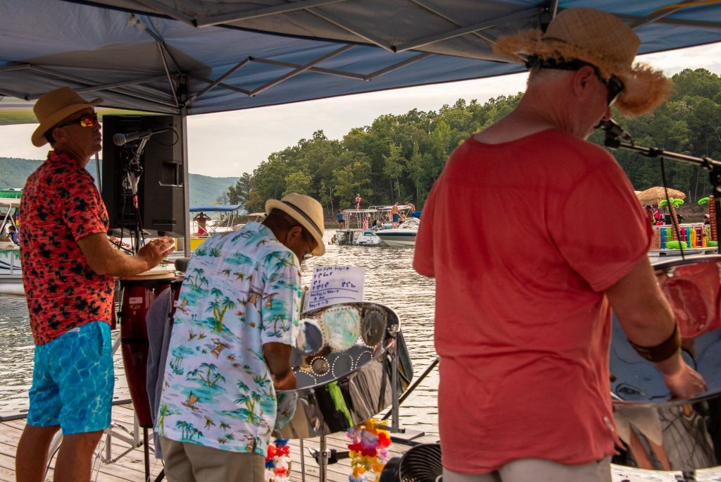Steel drum band Luau at the Lake