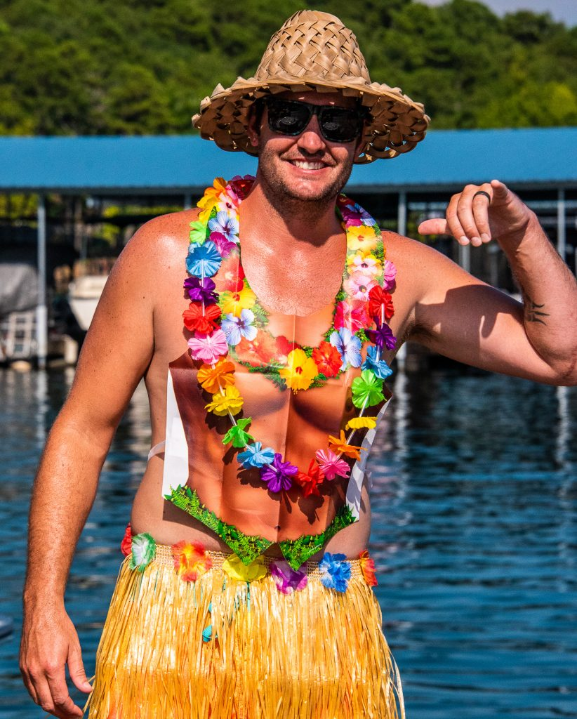 Cute hula guy